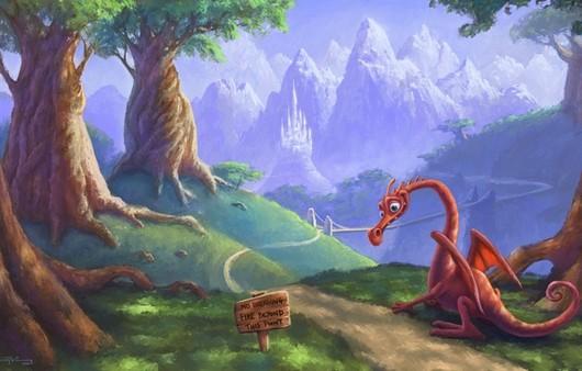 дракон в горах