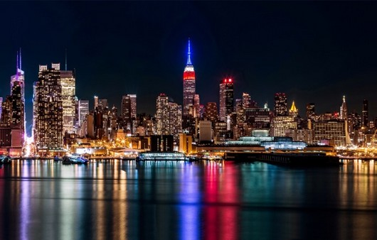 американский город