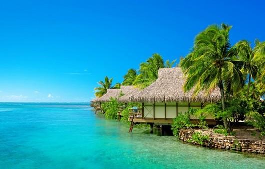 гавайская деревня