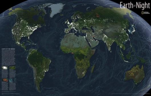 Материки планеты Земля