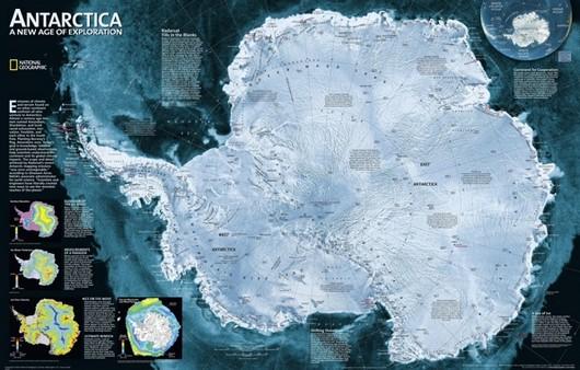 Снежная Антарктида