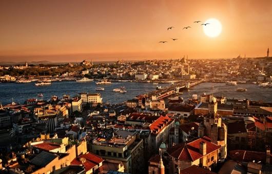 Утро в Турции