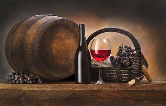 Фотообои Натюрморт винных изделий