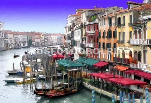 Фотообои Набережная в Венеции