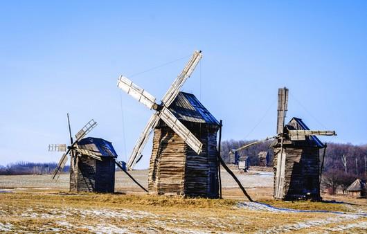 Мельницы в Украине