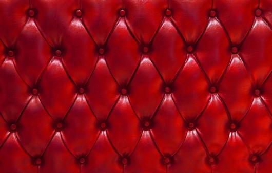 Фотообои Текстура красный кожаный диван