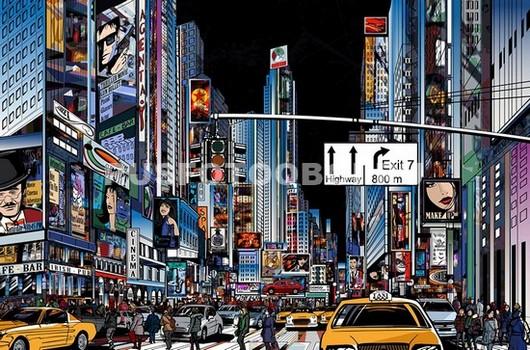 Нью-Йорк Таймс сквер