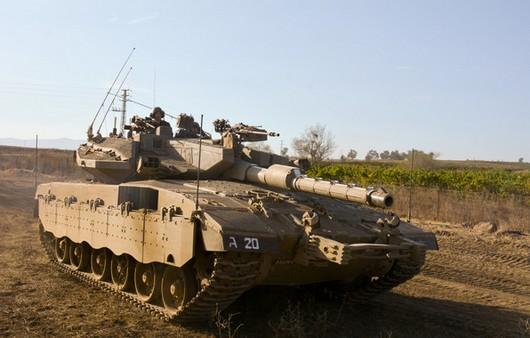 Боевой танк Mk III