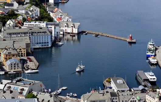 Порт в Норвегии
