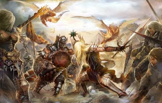 Бой из игры Forsaken world