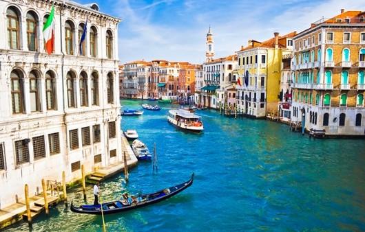 Улицы Венеции в Италии