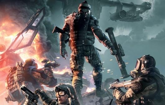 Солдаты из игры Warfare