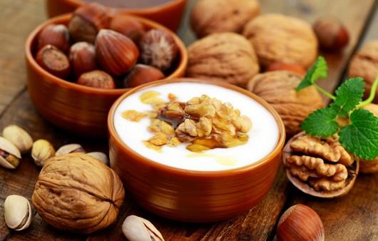 Фотообои Десерт из грецких орехов