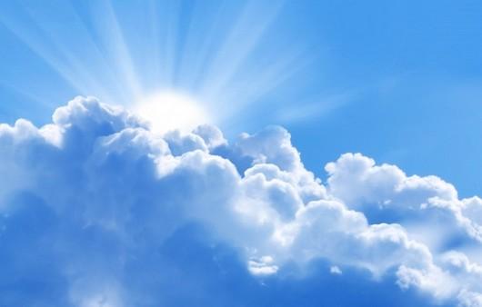 Голубые облака