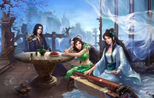 Кадр из игры  Jade dynasty