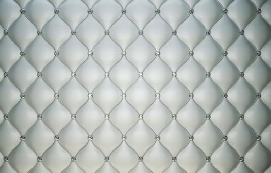 Текстура белого кожаного дивана