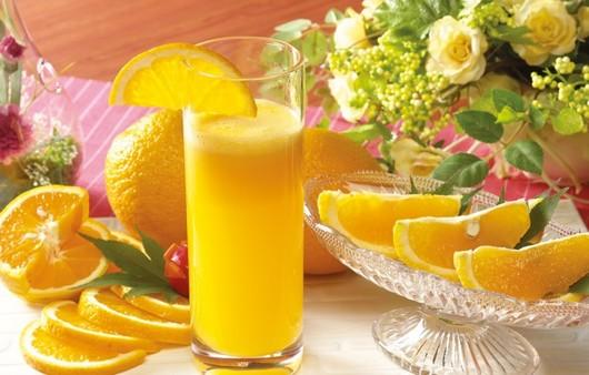 Фотообои Стакан апельсинового сока