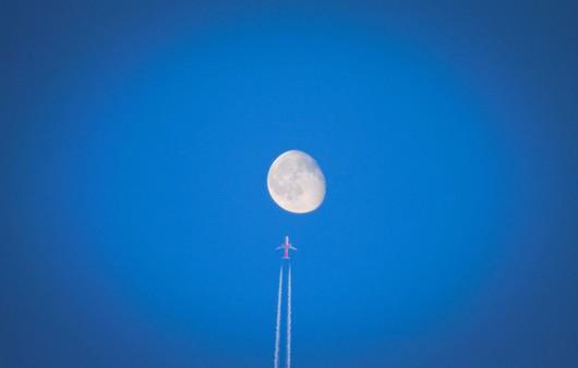 Луна над радиовышкой