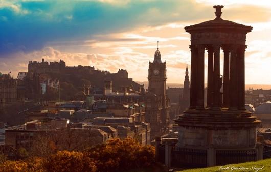 Эдинбург в Шотландии