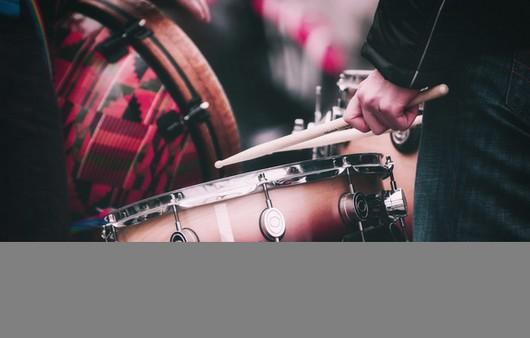 Фотообои Барабанщик на улице