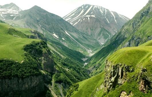 Фотообои Зеленые долины