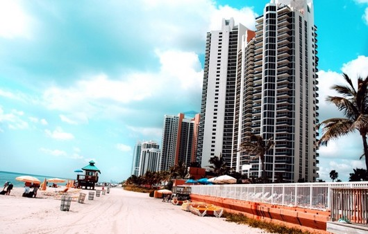 Город Майами во Флориде