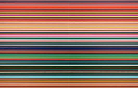 Текстура цветных линий