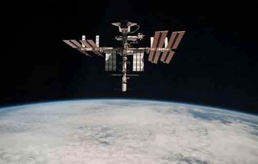 Станция МКС на орбите