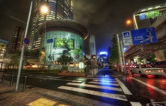 Город Approach в Японии