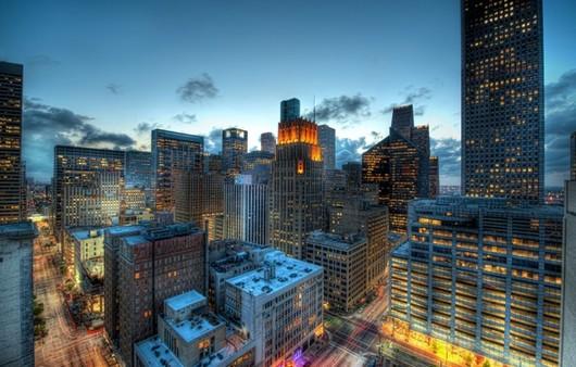 Фотообои Город Хьюстон