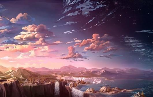 Пейзаж горной местности