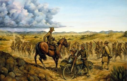 Армия Солдатов с лошадьми