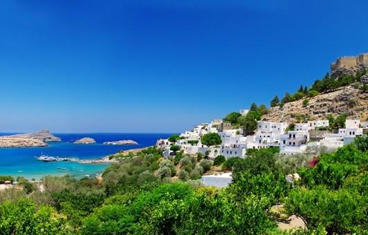 Крепость на побережье Греции