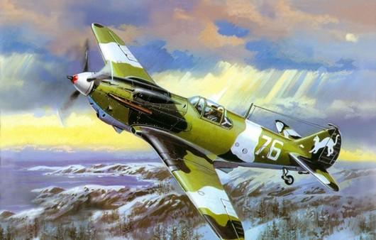 Военный советский самолет Лагг-3