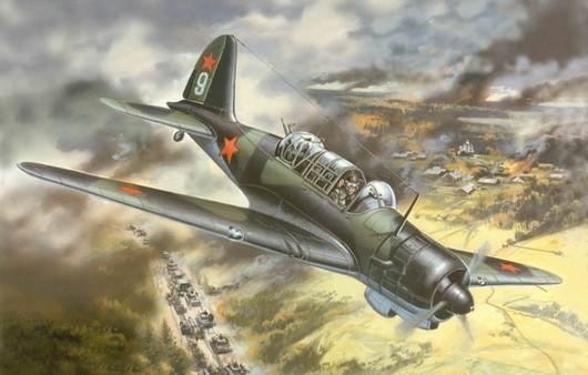 Советский самолет Су-2