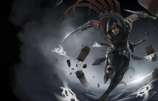 Фан-арт из игры Лига легенд