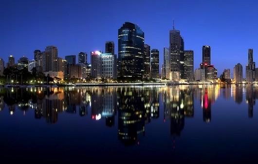 Город Queensland в Австралии