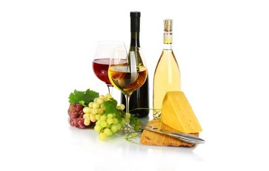 Фотообои Белое и красное вино