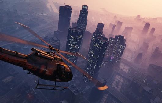Вертолет из игры GTA 5