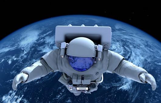 Космонавт в атмосфере