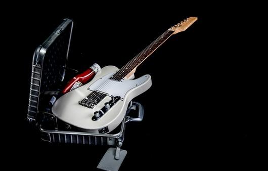 Гитара в макросъемке