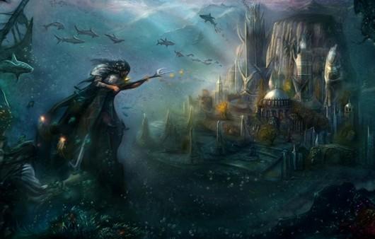 Фантастичный подводный мир