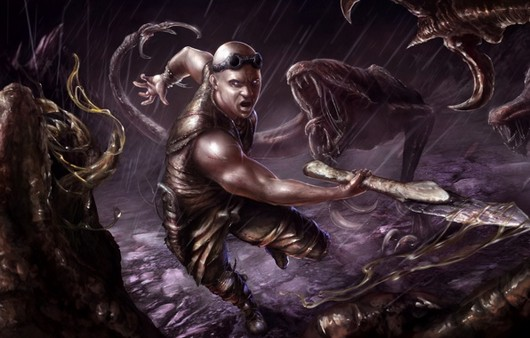 Фан арт из игры Riddick