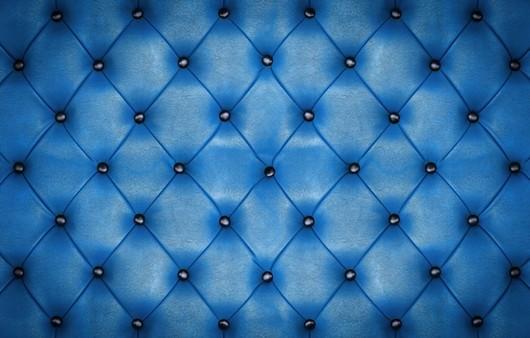 Текстура с кожаным синим диваном