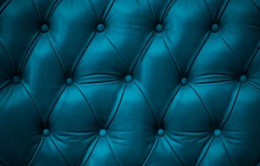 Текстура кожаного бирюзового дивана