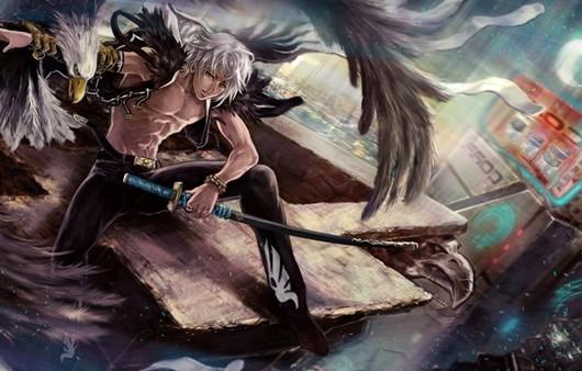 Охотник с мечом