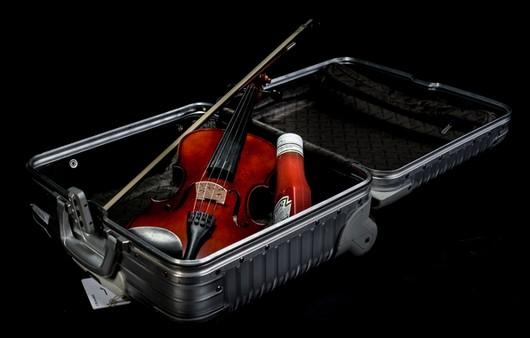 Скрипка в чемодане