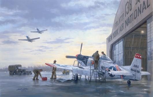 Самолет P51