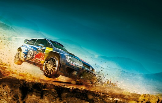 Кадр из игры Dirt Rally