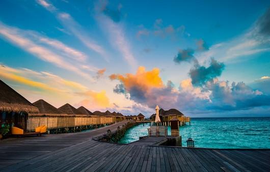 Мост на Мальдивах